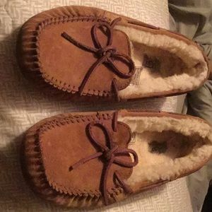 Ugg shoes bsrely worn
